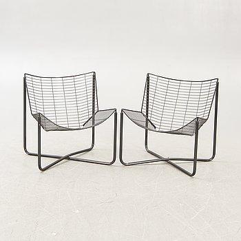 """Niels Gammelgaard, armchairs, a pair, """"järpen"""", Ikea."""