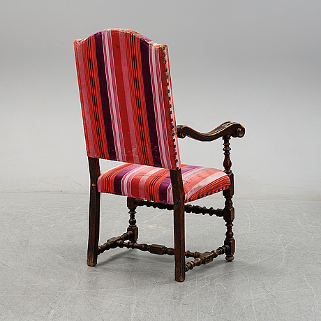 A baroque style chair, presumably southern european, 19th century or older.