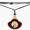 "A hermès,  necklace from ""la ligne corne""."