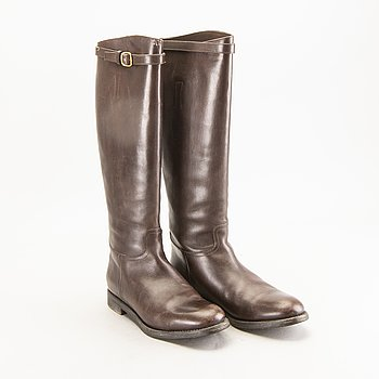 "Church`s, boots, size 37.5, ""Michelle Nevada Ebony""."