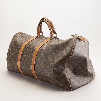 """Louis Vuitton, bag, """"Keepall 60""""."""