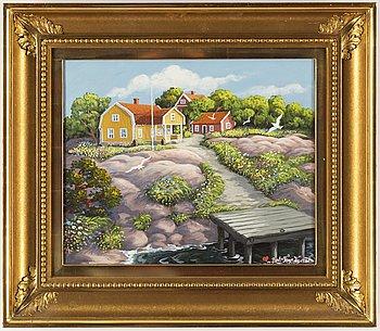 Bert Håge Häverö, oil on canvas, signed.