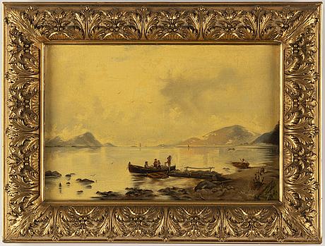 Georg anton rasmussen, copy ad´fter, oil on canvas/panel.
