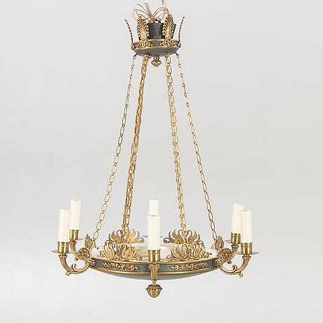 An empire style pendant, mid-20th century.