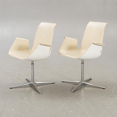 """Preben fabricius & jørgen kastholm, """"bucket chair"""" för walter knoll tyskland 1900-talets senare del."""