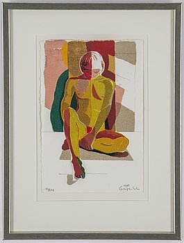 Ulf Gripenholm, silkscreen in colours, signed 85/295.