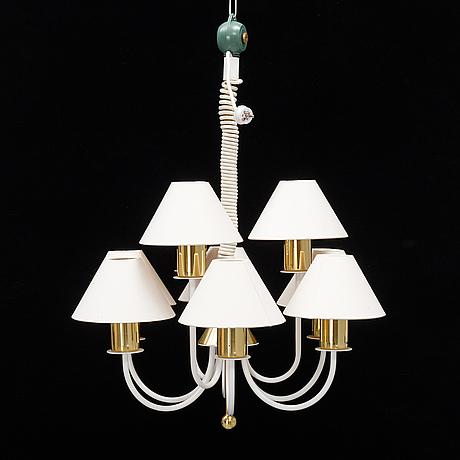Hans-agne jakobsson, a 't937-9 spinett', ceiling light, hans agne jakobsson markaryd ab.