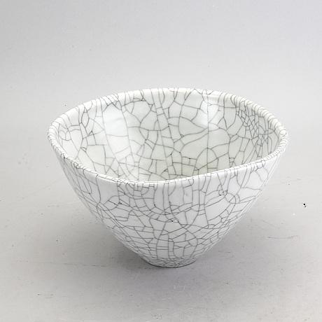 Friedl holzer-kjellberg, bowl, arabia, finland, 1942.