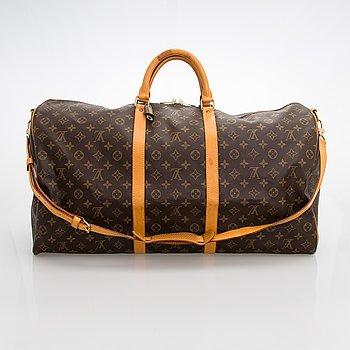 """Louis Vuitton, """"Keepall 60 Bandoulière"""", väska."""