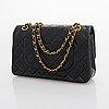 "Chanel, ""double flap bag"", 1994-1996."