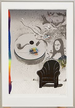 Ardy Strüwer, lithograph in colours signed and numbered 79/200.