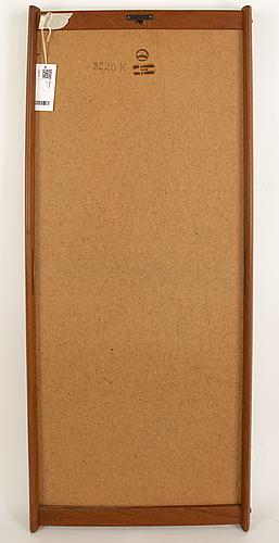 A teak mirror by aksel kjersgaard, odder, danmark, 1960's.