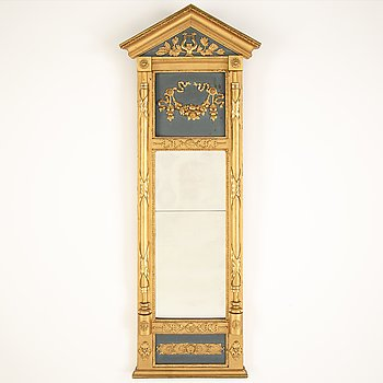 A mid 19th century empire mirror.