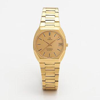 Omega, Constellation, chronometer, wristwatch, 33 mm.