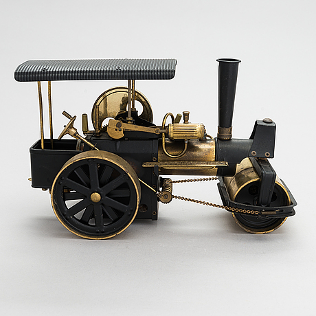 Steam engine, latter half of the 20th century, marked western germany.