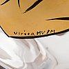 Ulrica hydman-vallien, skål, glas, artist collection, kosta boda, signerad.