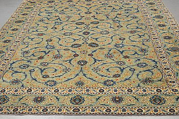 A carpet, Keshan, ca 412 x 305 cm.