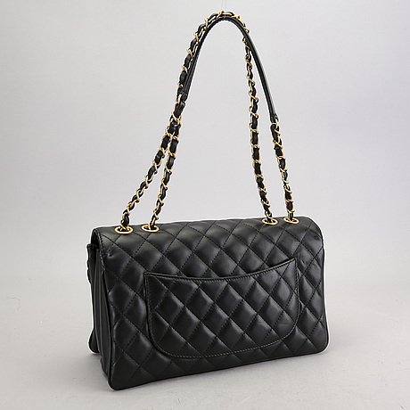 A chanel flap bag 2018.