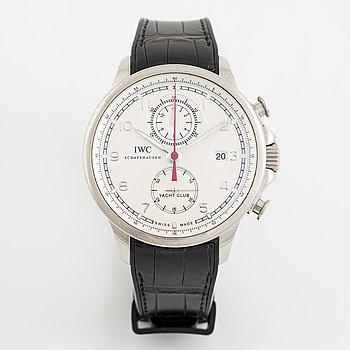 IWC, Portugieser, Yacht Club, chronograph, wristwatch, 45,5 mm.