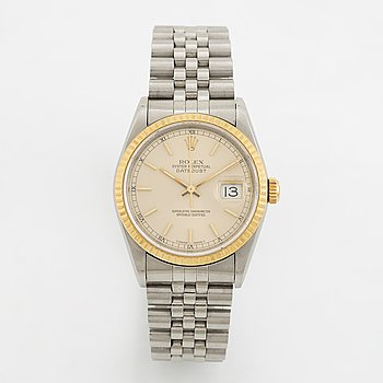 Rolex, Oyster Perpetual, Datejust, Chronometer, wristwatch, 36 mm,
