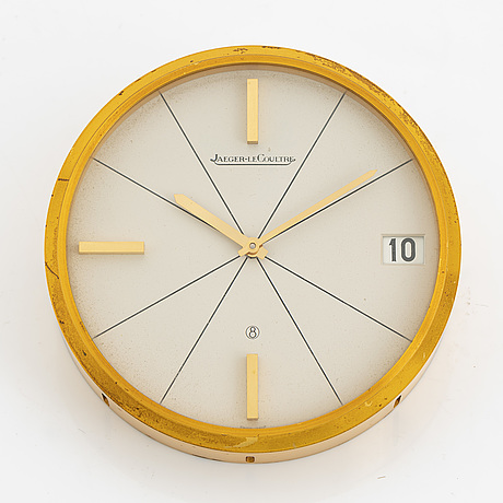 Jaeger-lecoultre, table clock, 95 mm.