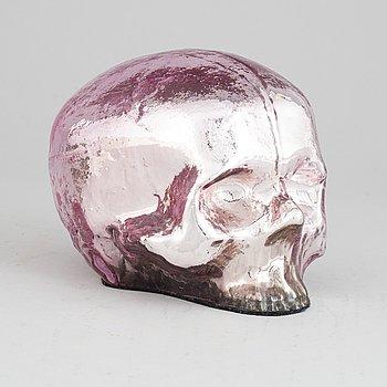 "Ludvig Löfgren, ""Vanitas"" glass sculpture, signed and numbered, Kosta Boda."