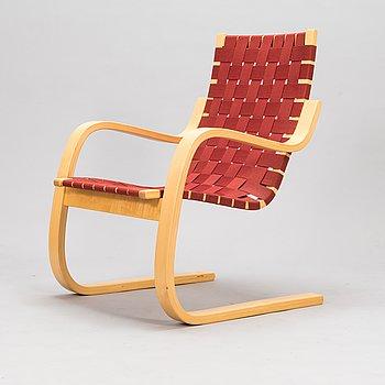 Alvar Aalto, fåtölj, modell 406, speciell färgutgåva 2007, Artek.