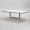 Charles and ray eames, a 'segmented table', vitra, 2005.