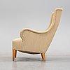 Carl malmsten, a mid 20th century 'oscar' lounge chair.