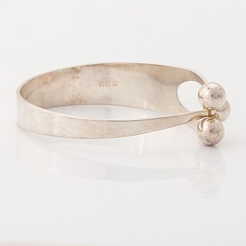 Age, bangle, silver. Norway.