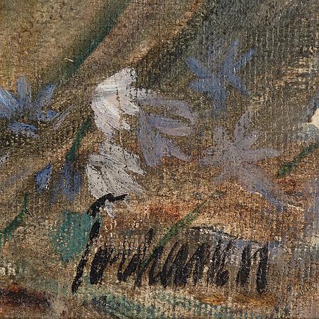 Gunnar torhamn, oil on canvas, signed.