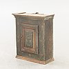 A swedish painted wall cabinet around 1800.