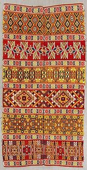 A Swedish table cloth Skåne early 1900s ca 213x109 cm.