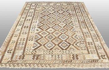 A kilim carpet ca 296x203 cm.