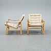 Bror boije, an easy chair model 'junker', dux, second half of the 20th century.