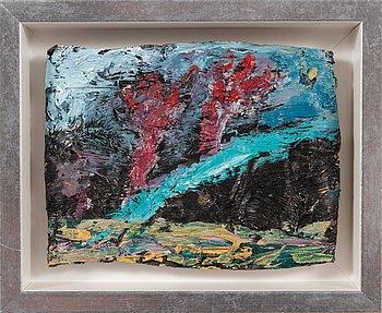 """Nanna Susi, """"Målning för färgtuben""""."""