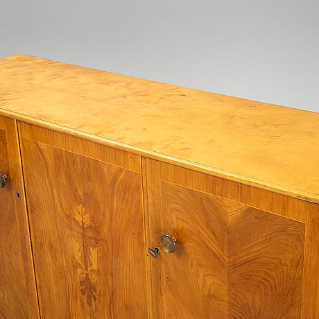An elm sideboard, 1940's.