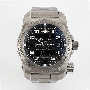 Breitling, Emergency II, armbandsur, 51 mm.