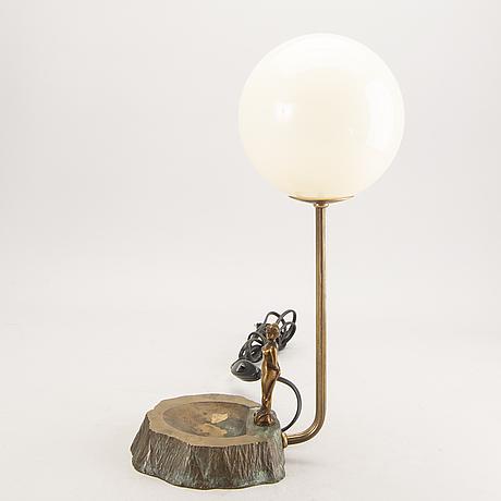 Bordslampa 1940-tal.