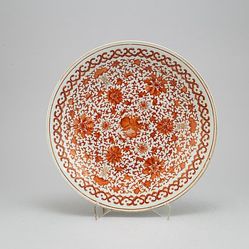 A Chinese dish, Qing Dynasty, 19th century.