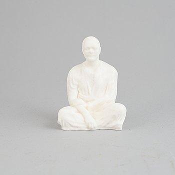Fredrik Wretman, a silicone 'Microtrans' sculpture.