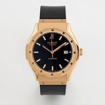 Hublot, Classic Fusion, wristwatch, 41 mm.