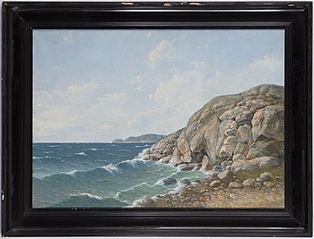 Leonard Wiedh, oil on canvas, signed.