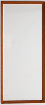 A 1950's/60's teak mirror from Glasmäster, Markaryd.