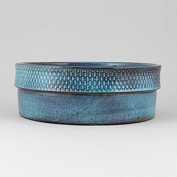 Stig Lindberg, a stoneware bowl, Gustavsbergs studio.