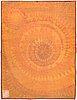 Marjatta metsovaara, a finnish ryarug for oy finnrya ab. circa 180x135 cm.