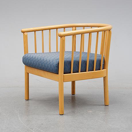 Armchair, skandiform, second half of the 20th century.