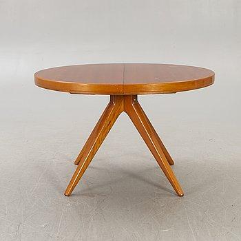 David Rosén, a Futura mahogany dining table mid 1900s.
