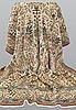 Matta, figural ghom, ca 324 x 234 cm.