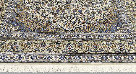 A carpet, kashmar, ca 353 x 250 cm.